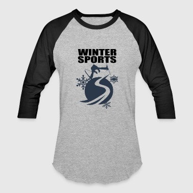 winter sports - Baseball T-Shirt