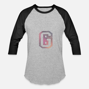 Capital Crew Fame Allstars Alphabet G - Baseball T-Shirt