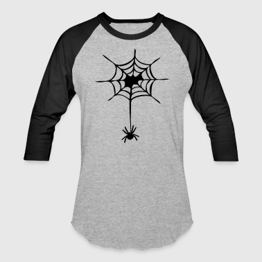 Spider Web halloween spider - Baseball T-Shirt