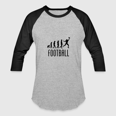 Football Evolution Wide Receiver - Baseball T-Shirt