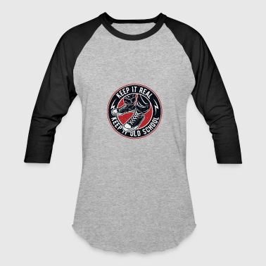 Keep It Old School Vintage Old School - Baseball T-Shirt