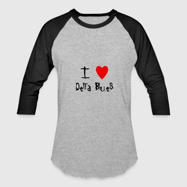 Delta Blues - Baseball T-Shirt