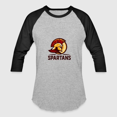 spartans - Baseball T-Shirt
