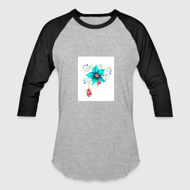 Blooms - Baseball T-Shirt