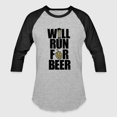 Will run for beer - Baseball T-Shirt