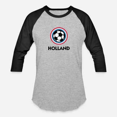 Holland Emblem Holland Football Emblem - Baseball T-Shirt
