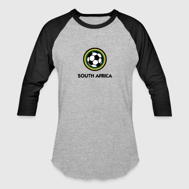 Bafana Bafana South Africa Football Emblem - Baseball T-Shirt
