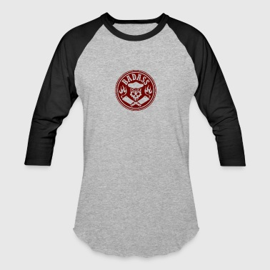 badass chef red - Baseball T-Shirt