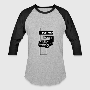 Ih8mud FJ 40 ABSTRACT - Baseball T-Shirt