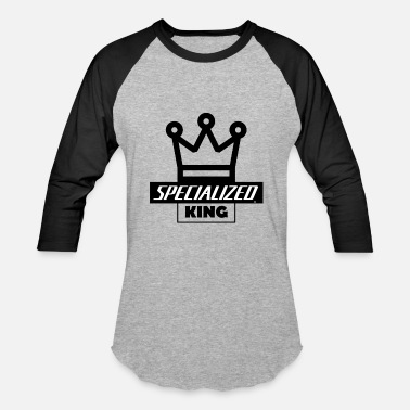 Specialized Bikes Specialized King - Baseball T-Shirt