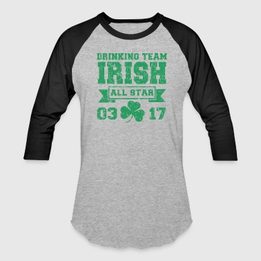 Irish All Star Drinking Team All Star 3/17 - Baseball T-Shirt