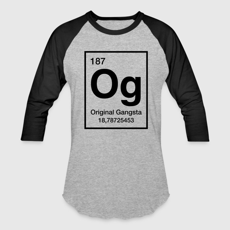 Original gangsta - Baseball T-Shirt