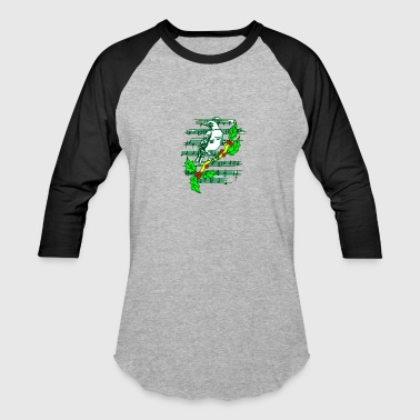 Dancing Notes - Baseball T-Shirt