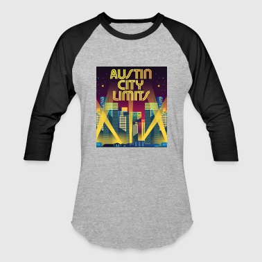 City Limits ACL Austin City Limits - Baseball T-Shirt