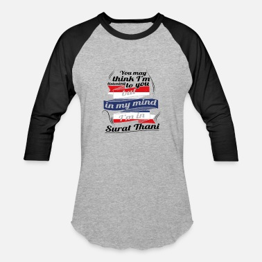 Surat URLAUB HOME ROOTS TRAVEL I M IN Thailand Surat Tha - Baseball T-Shirt