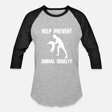 One Love Animal Rescue Dog Cat Rescue Help Prevent Animal Cruelty - Baseball T-Shirt