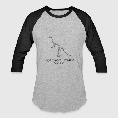 Science Museum Compsognathus - Baseball T-Shirt