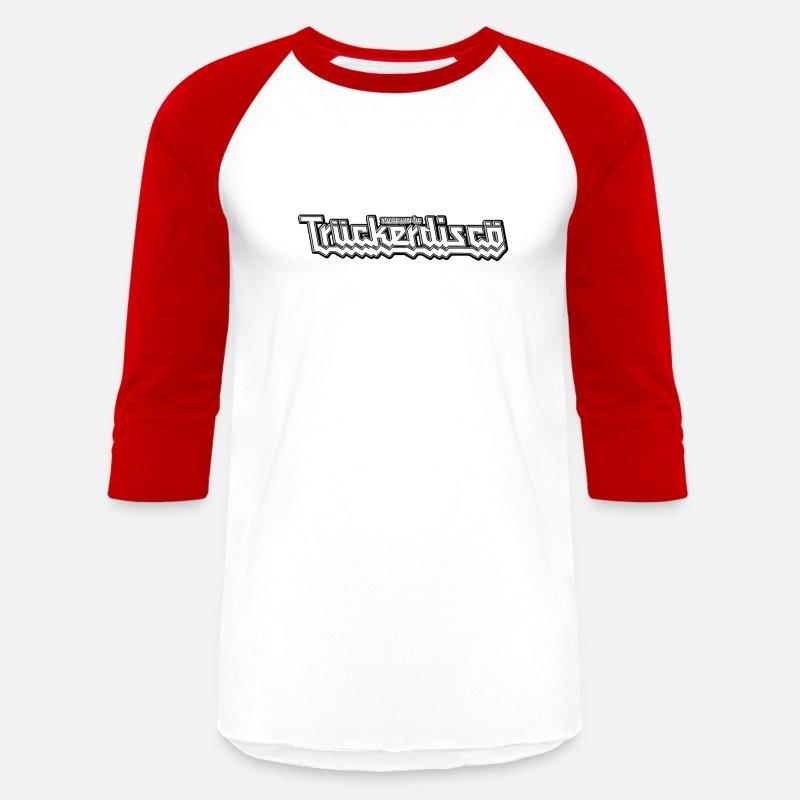 61d238ee6 TRUCKERDISCO jersey-style t-shirt Unisex Baseball T-Shirt