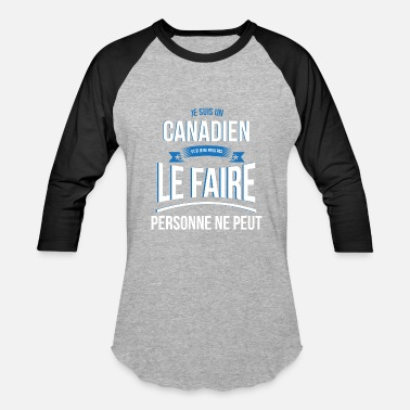 Canadian Gift Canadian no one can gift - Baseball T-Shirt