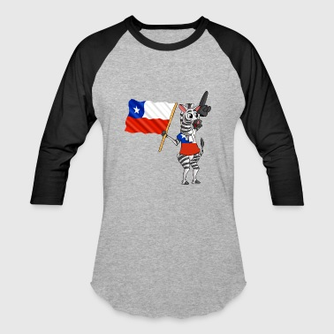 A Chilean Zebra - Baseball T-Shirt