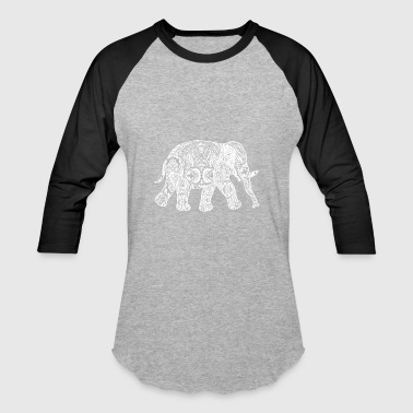 GIFT - ELEPHANT WHITE - Baseball T-Shirt