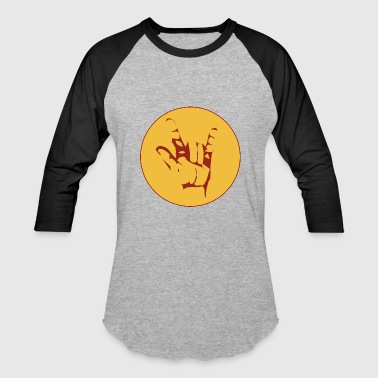 rock sign - Baseball T-Shirt