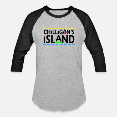 Teamcib Chilliagan's Island - Baseball T-Shirt
