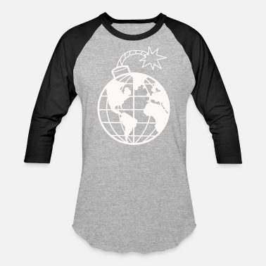 Mother Earth Protection Pollution Environmental Protection Mother Earth - Unisex Baseball T-Shirt