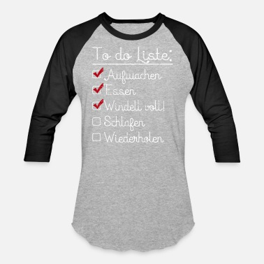 Baby Sayings Offspring Baby saying Funny - Unisex Baseball T-Shirt