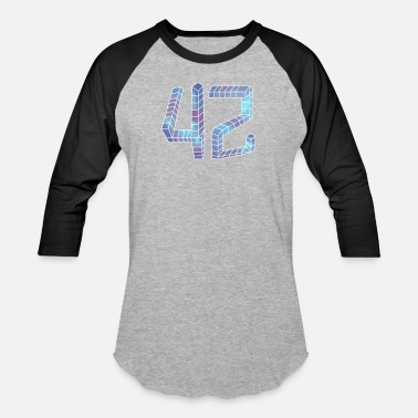 Number 42 Number 42 galaxy - Baseball T-Shirt