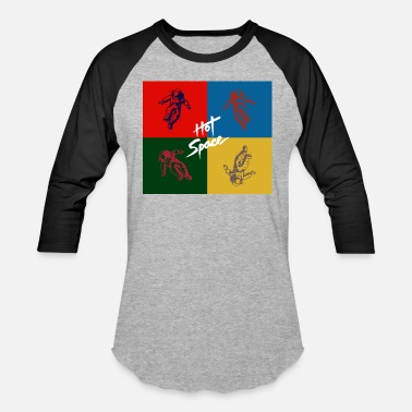 Hot Space Astronaut - Unisex Baseball T-Shirt