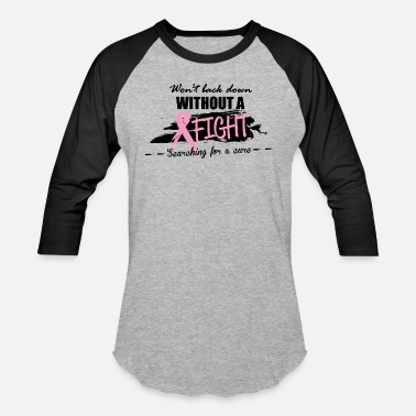 Breast Cancer Awareness BREAST CANCER - Unisex Baseball T-Shirt