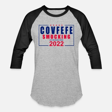Covfefe Smocking 2022 - Unisex Baseball T-Shirt