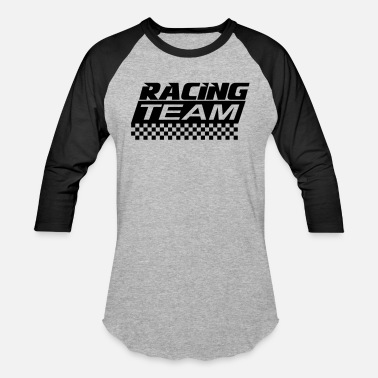 Racing Team racing team - Unisex Baseball T-Shirt