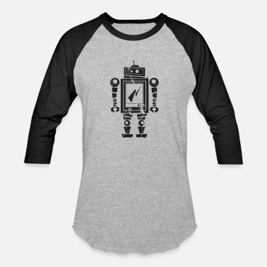 Team Robot ROBOT - Baseball T-Shirt