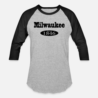 Milwaukee milwaukee - Unisex Baseball T-Shirt
