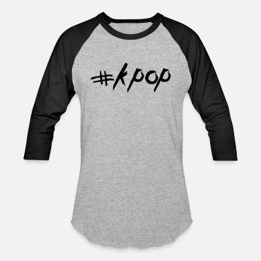 Korean Pop # K POP - Korean POP - KPOP - Streetstyle Design - Baseball T-Shirt