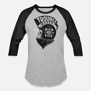 Trouble Trouble maker - Baseball T-Shirt