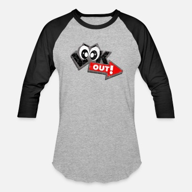 Look Out Look Out! - Baseball T-Shirt