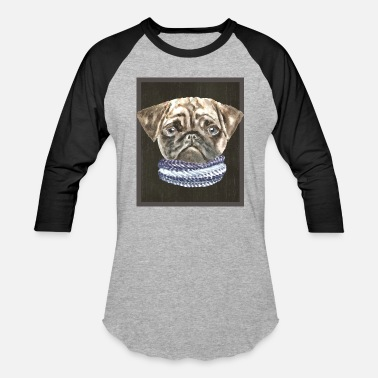 Dog Clothes Pug Scarf Dogs In Clothes - Unisex Baseball T-Shirt