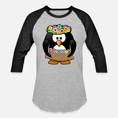 Tahiti hawaian tahiti penguin holiday - Baseball T-Shirt