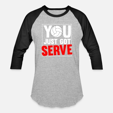Serve SERVE - Unisex Baseball T-Shirt