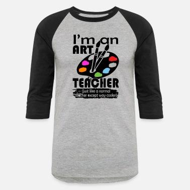 4f3fdb6e Art Art Teacher Shirts - Unisex Baseball T-Shirt