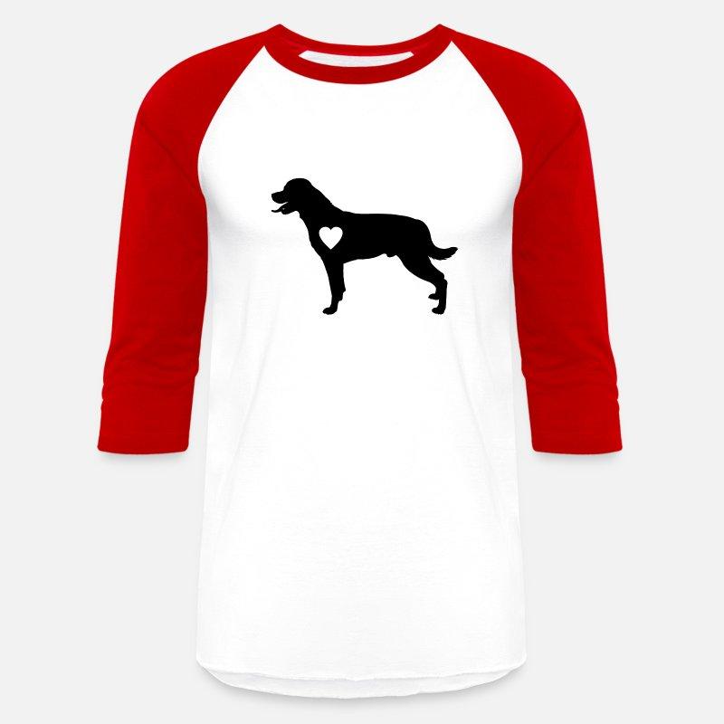 57571745 Rottweiler love heart, dog, dog mom, dog dad, gift Unisex Baseball T-Shirt    Spreadshirt