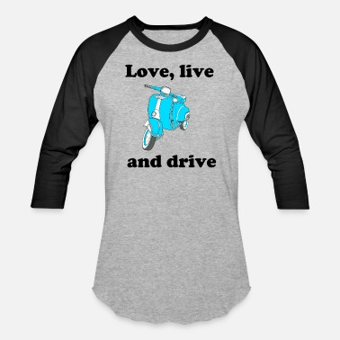 Live Love love live and live - Baseball T-Shirt