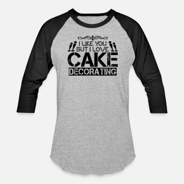 Cake Decorating Cake Decorator - Baseball T-Shirt