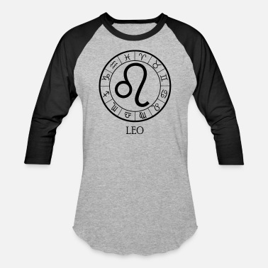 Astrology Leo astrological zodiac sign - Unisex Baseball T-Shirt