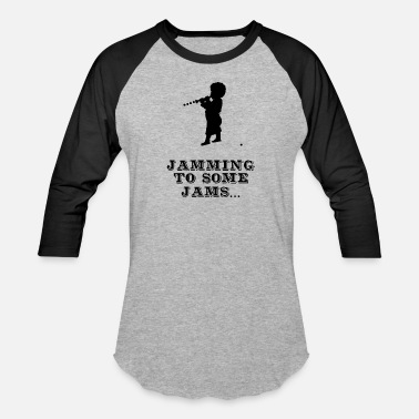 Jam Jamming to some Jams - Baseball T-Shirt