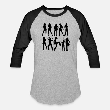 Female Dance/Fashion - Unisex Baseball T-Shirt
