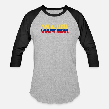 Latino Colombia Colombia - Baseball T-Shirt
